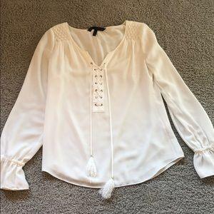 White House Black Market blouse.